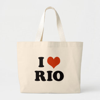 I love Rio Large Tote Bag