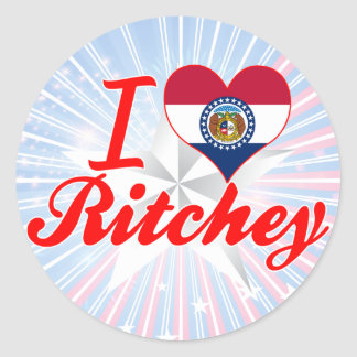 I Love Ritchey Missouri Stickers