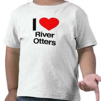 i love river otters tshirt
