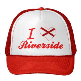I Love Riverside, Alabama Trucker Hats