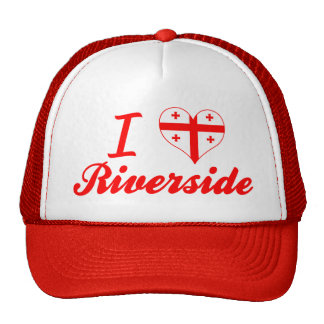 I Love Riverside, Georgia Trucker Hats