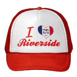 I Love Riverside, Iowa Trucker Hat