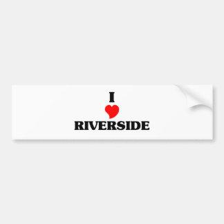 I love Riverside Oh Car Bumper Sticker
