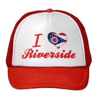 I Love Riverside, Ohio Hats