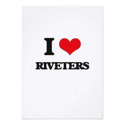 I love Riveters Personalized Invite