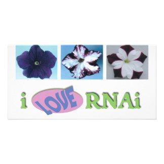 I love RNAi set Personalized Photo Card