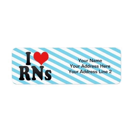 I Love RNs