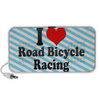 I love Road Bicycle Racing Laptop Speakers