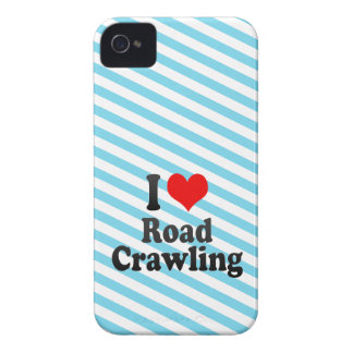 I love Road Crawling iPhone 4 Case-Mate Cases