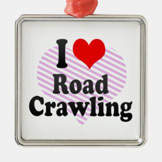 I love Road Crawling Christmas Tree Ornaments