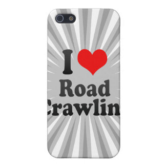 I love Road Crawling Case For iPhone 5