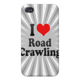I love Road Crawling iPhone 4 Cases