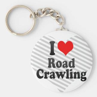I love Road Crawling Key Chain