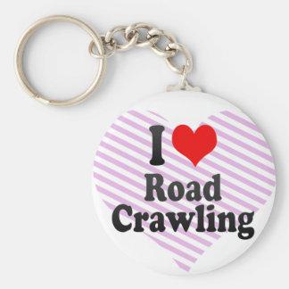 I love Road Crawling Keychain