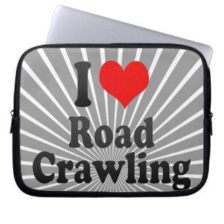 I love Road Crawling Laptop Computer Sleeve