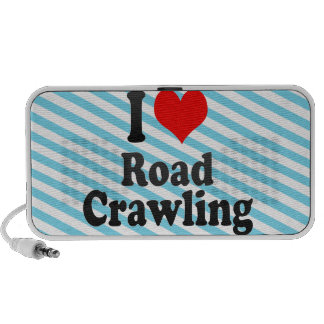 I love Road Crawling Laptop Speaker