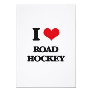 I Love Road Hockey Custom Announcements