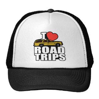 I Love Road Trips Cap