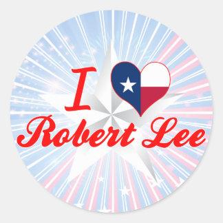 I Love Robert Lee, Texas Sticker