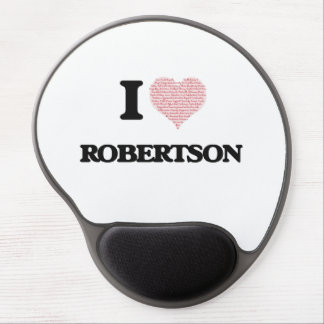 I Love Robertson Gel Mouse Pad