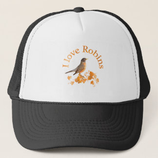 I Love Robins Trucker Hat