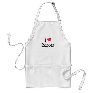 I Love Robots Standard Apron