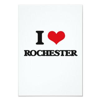 I love Rochester 9 Cm X 13 Cm Invitation Card