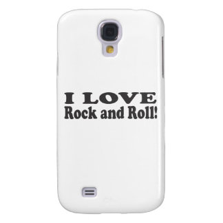 I Love Rock and Roll Galaxy S4 Case