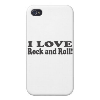 I Love Rock and Roll iPhone 4/4S Cases