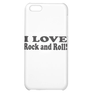 I Love Rock and Roll! iPhone 5C Covers