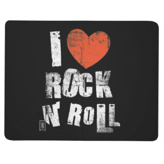 """""""I LOVE ROCK AND ROLL"""" POCKET JOURNAL"""