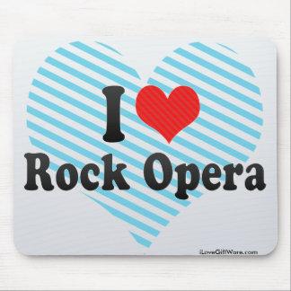 I Love Rock Opera Mouse Pad