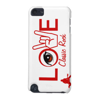 I Love Rock Roll iPod Touch (5th Generation) Case