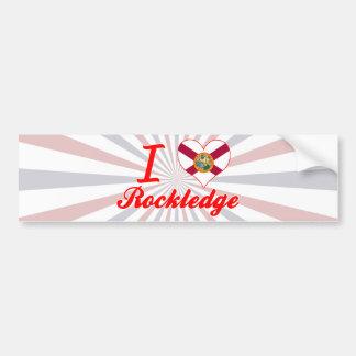 I Love Rockledge, Florida Bumper Sticker