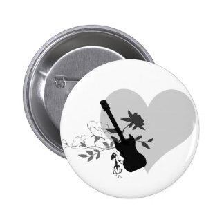 I Love RocknRoll button by ArtemisKlein
