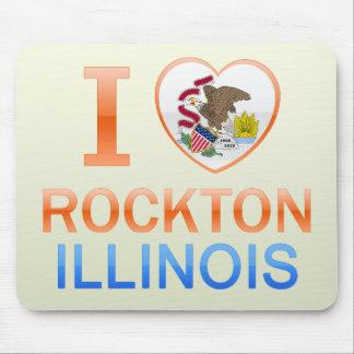I Love Rockton, IL Mouse Pad