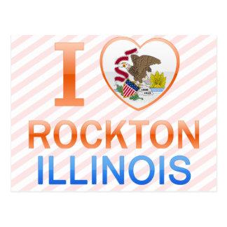 I Love Rockton, IL Postcard