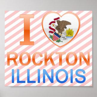 I Love Rockton, IL Poster