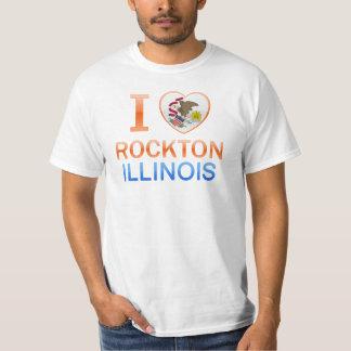 I Love Rockton, IL T-shirt