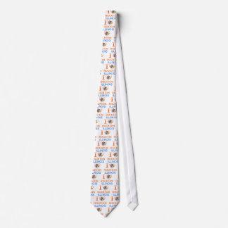 I Love Rockton, IL Custom Tie