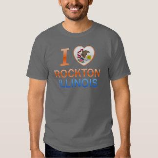 I Love Rockton, IL Tshirts