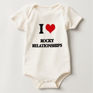 I Love Rocky Relationships Bodysuits