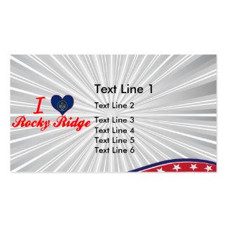 I Love Rocky Ridge, Utah Business Cards