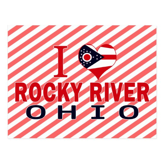 I love Rocky River, Ohio Postcard