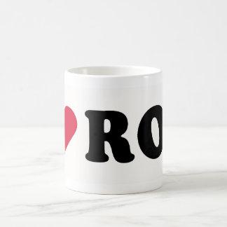I LOVE ROD CLASSIC WHITE COFFEE MUG