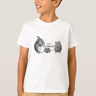 I Love Rodents: Squirrel, Mouse, Hamster: Pencil T-Shirt