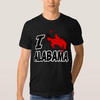 I Love Rodeo Alabama Tee Shirt