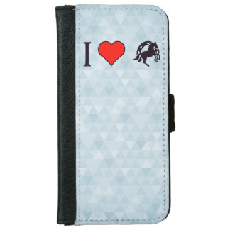 I Love Rodeo iPhone 6 Wallet Case
