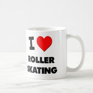 I Love Roller Skating Mug