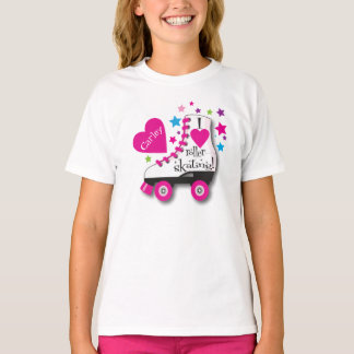 I Love Roller Skating T-Shirt
